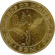 50 Centimes - Casino de Monte Carlo – reverse