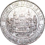 20 Centimes - Casino de Monte-Carlo – obverse