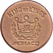 Game Token - King of Kings (Monaco) – obverse