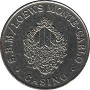2 Francs - Casino S.B.M / Loews Monte-Carlo – obverse