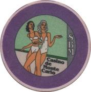 Token - Casino de Monte Carlo – reverse