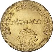 10 Francs - Cercle Des Etrangers – obverse
