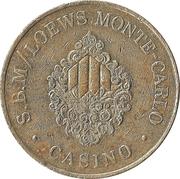 1 Franc - Casino S.B.M / Loews Monte-Carlo – obverse
