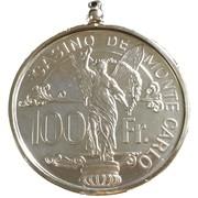 100 Francs - Casino de Monte Carlo – obverse