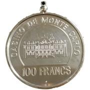 100 Francs - Casino de Monte Carlo – reverse