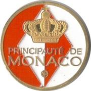 Token - Souvenirs et Patrimoine (Le Rocher de Monaco) – obverse