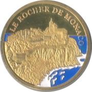 Token - Souvenirs et Patrimoine (Le Rocher de Monaco) – reverse