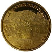 Token - Souvenirs et Patrimoine (Le rocher de Monaco; gold) – obverse