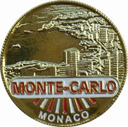Token - Monaco (Monte Carlo) – reverse