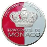 Token - Souvenirs et Patrimoine (Monaco - Monte Carlo) – reverse