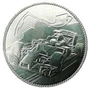 Token - Monaco (Le Rocher) – reverse