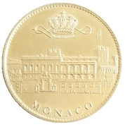 Token - Monaco (Le palais princier) – reverse