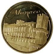 Token - Monaco (Le Rocher - Palais princier) – reverse