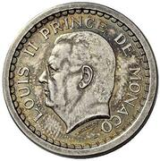 2 Francs - Louis II (Essai) – obverse