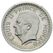1 Franc - Louis II (Essai) – obverse