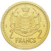 2 Francs - Louis II (Essai) – reverse