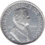 50 Francs - Rainier III (Anniversary of Reign - Essai) – obverse