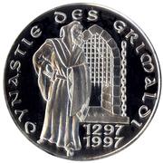 100 Francs - Rainier III (Grimaldi Dynasty) – reverse