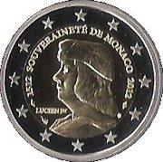 2 Euro - Albert II (Lucien Grimaldi I) – obverse