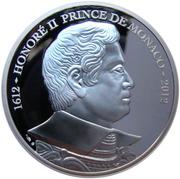10 Euro - Albert II (Honoré II - Prince de Monaco) – obverse