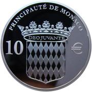 10 Euro - Albert II (Honoré II - Prince de Monaco) – reverse