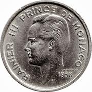 100 Francs - Rainier III – obverse