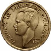 100 Francs - Rainier III (Essai) – obverse