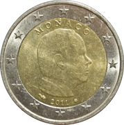 2 Euro - Albert II (2nd map) -  obverse
