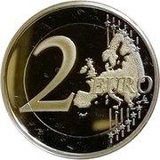 2 Euro - Albert II (Foundation of Monte Carlo) – reverse