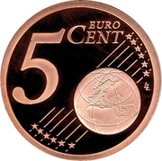 5 Euro Cent - Albert II (2nd type) – reverse