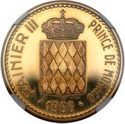 10 Francs - Rainier III (Accession of Prince Charles III - Essai) – obverse