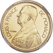 10 Francs - Louis II (Essai) – obverse