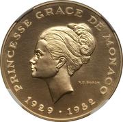 10 Francs - Rainier III (Princess Grace - Essai) – obverse