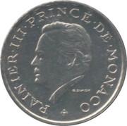 2 Francs - Rainier III – obverse