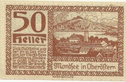 50 Heller (Mondsee) -  obverse