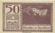 50 Heller (Mondsee) -  reverse