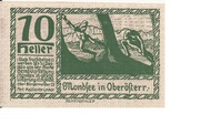 10 Heller (Mondsee) – reverse
