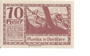 10 Heller (Mondsee) -  reverse
