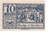 10 Heller (Mondsee) -  obverse