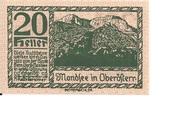 20 Heller (Mondsee) – reverse