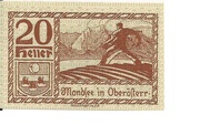 20 Heller (Mondsee) -  obverse