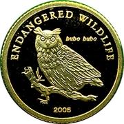 1000 Tögrög (Eurasian Eagle Owl) -  reverse