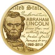 1000 Tögrög (Abraham Lincoln) -  reverse