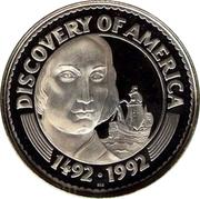 50 Tögrög (Discovery of America - Columbus) – reverse