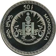 50 Tögrög (Year of the Rat) – obverse