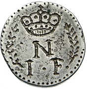 1 Franc - Napoleon – obverse