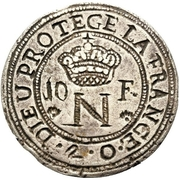 10 Francs - Napoleon – obverse