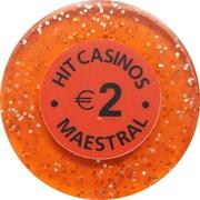 2 Euro - Casino Hit Maestral (Sveti Stefan Budva) – obverse