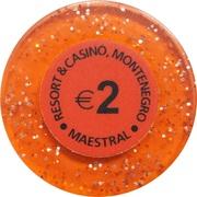 2 Euro - Casino Hit Maestral (Sveti Stefan Budva) – reverse