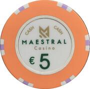 5 Euro - Maestral Casino (Przno) – obverse